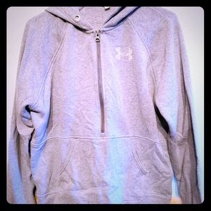3/4 zip hoodie